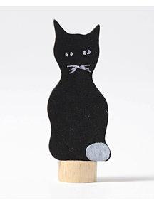 Grimm's Steker - zwarte kat