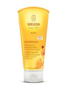 Weleda Calendula baby haar- en bodyshampoo 200ml