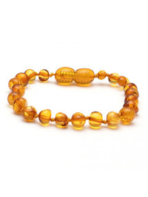 Amber Barnsteen kinder armband 16,5cm - honey