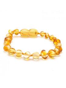 Amber Barnsteen kinder armband 16,5cm - lemon