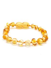 Amber Barnsteen dames armband 18cm - lemon