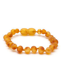 Amber Barnsteen dames armband 18cm - honey raw
