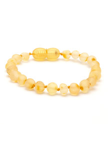 Amber Barnsteen dames armband 18cm - lemon raw