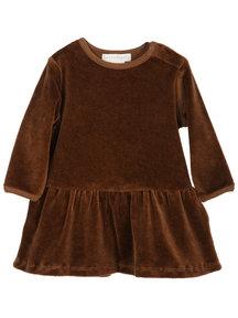 Serendipity Baby jurkje velour - caramel