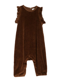 Serendipity Flair jumpsuit velours - caramel