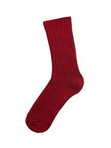 Joha Sokken van wol - rood
