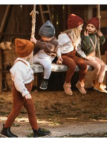 Silly Silas Warmy tights - cinnamon