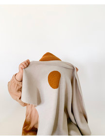 Hvid Baby deken van wol Edi