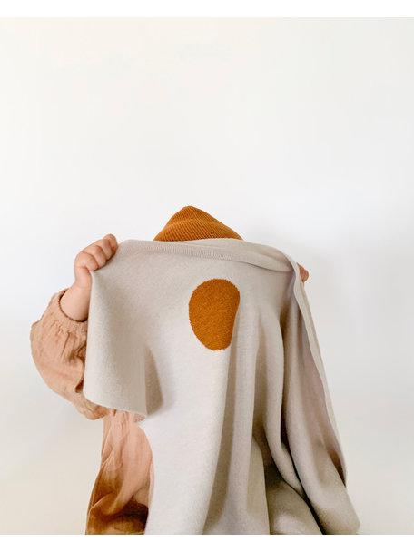Hvid Baby deken van wol Edie