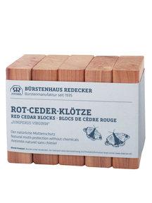 Redecker Anti-mot cederblokken - 5 stuks