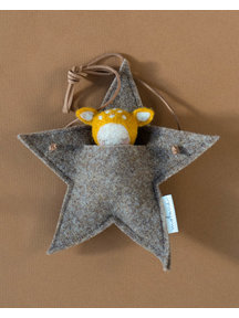 Studio Motane Fawn with star pocket - saffron