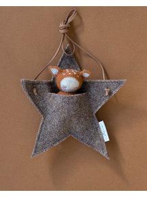 Studio Motane Fawn with star pocket - cinnamon