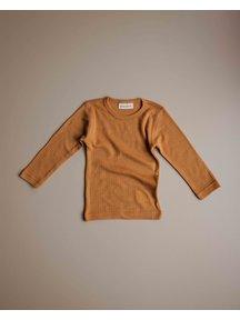 Unaduna Shirt longsleeves - inca gold