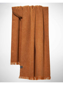 Bufandy Brushed solid shawl - toffee