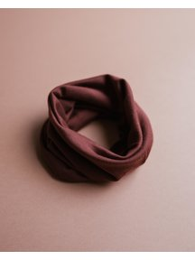Unaduna Loopsjaal van wol/zijde - henna dune