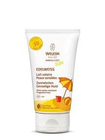 Weleda Zonnebrand lotion gevoelige huid spf 30 baby & kids 150ml