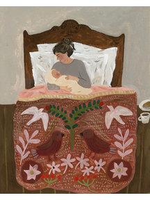 Boeken & Kaarten Tijana draws - gevouwen kaart Gentle Beginnings of Motherhood