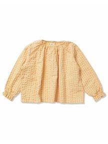 Konges Sløjd Acacia blouse - yellow check