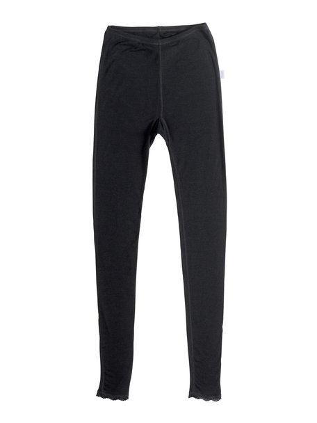 Joha Wollen dames legging Cecilie - zwart