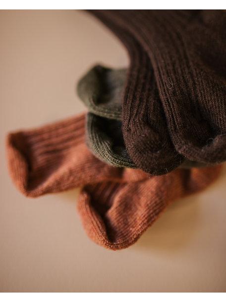 Joha Dikke wollen sokjes - koper