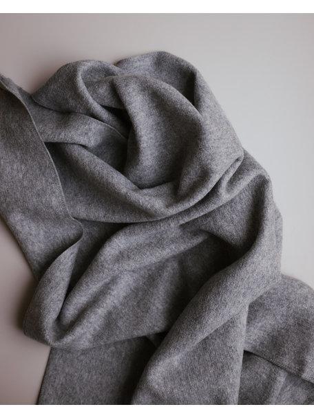 Disana Deken van gekookte wol - grijs