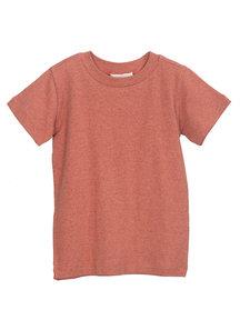 Serendipity T-shirt van katoen - brick