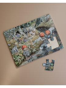 Elsa Beskow Elsa Beskow houten puzzel Kabouterkinderen