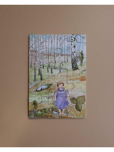 Elsa Beskow Elsa Beskow 4 houten puzzels - Natuur