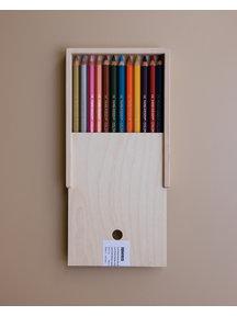 Lyra Potloden in houten doosje