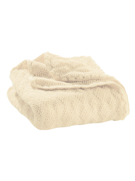 Disana Baby deken van wol - naturel