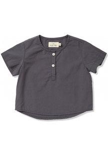 Konges Sløjd Verbena shirt korte mouw - blue shades