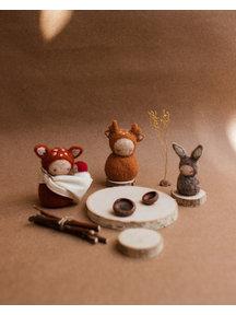 Studio Motane Animal  dolls family set (4 pcs)