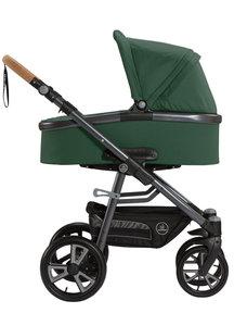 Naturkind Kinderwagen Lux sage - basis model inclusief reiswieg