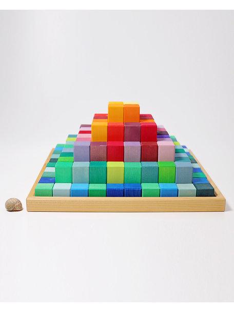 Grimm's Bouwset grote trap piramide