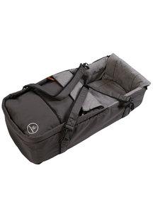 Naturkind Kinderwagen Lux mottled/slate grey - basis model inclusief reismand
