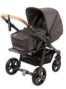 Naturkind Kinderwagen Lux slate grey - basis model inclusief reismand