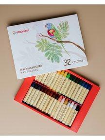 Stockmar Bijenwas krijtstiftjes 32 stuks