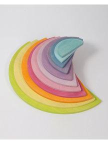 Grimm's Halve cirkels 11-delig - pastel