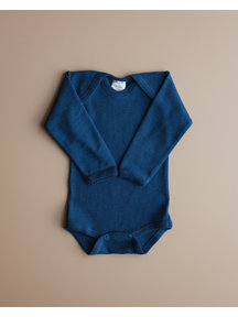Hocosa Rompertje wol zijde - donkerblauw