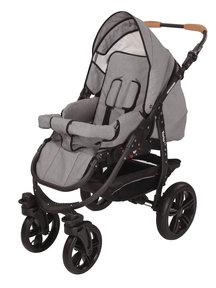 Naturkind Kinderwagen Varius Pro mottled grey - basis model