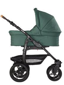 Naturkind Kinderwagen Varius Pro sage - basis model inclusief reiswieg