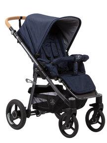 Naturkind Kinderwagen Lux Evo dark blue - basis model