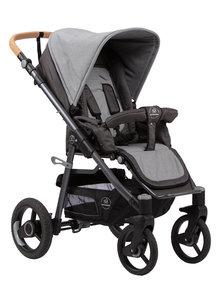 Naturkind Kinderwagen Lux Evo mottled/slate grey - basis model