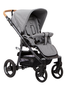 Naturkind Kinderwagen Lux Evo mottled grey - basis model