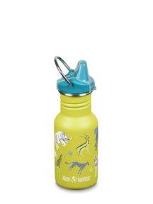 Klean Kanteen Kid Sippy fles 355 ml - safari