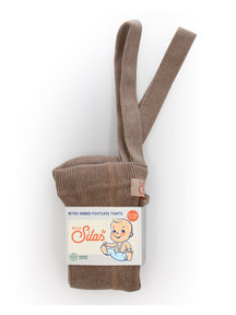 Silly Silas Maillot met bretels zonder voetjes - cacao blend