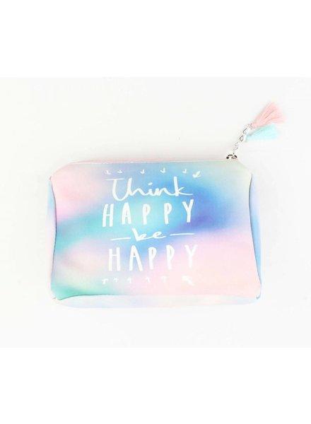 Make-up tas - Think happy