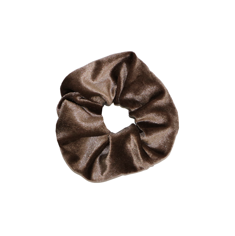 LOOK AT HER NOW - BROWN SCRUNCHIE