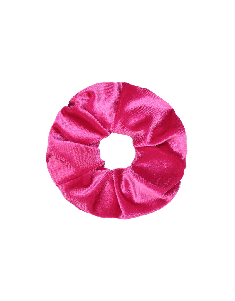 LOOK AT HER NOW - FUSHIA SCRUNCHIE
