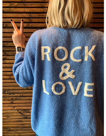 ROCK & LOVE BERNADETTE - BLAUW